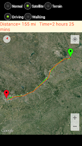 GPS Route Finder screenshot 13