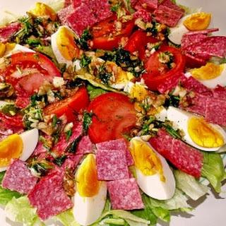 Italiaanse Salade Met Salami