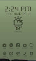 Screenshot of LCD Retro Theme