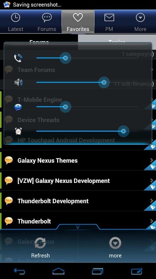 Cobalt - CM9/CM10/CM11 Theme- screenshot