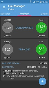 Fuel Manager (Consumption) v6.93