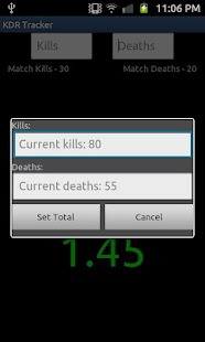 Kill Death Ratio Tracker Free - screenshot thumbnail