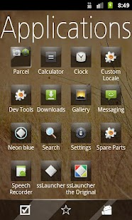 Glossy Metro Theme -ssLauncher - screenshot thumbnail