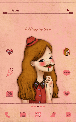 Falling love gentle lady Dodol