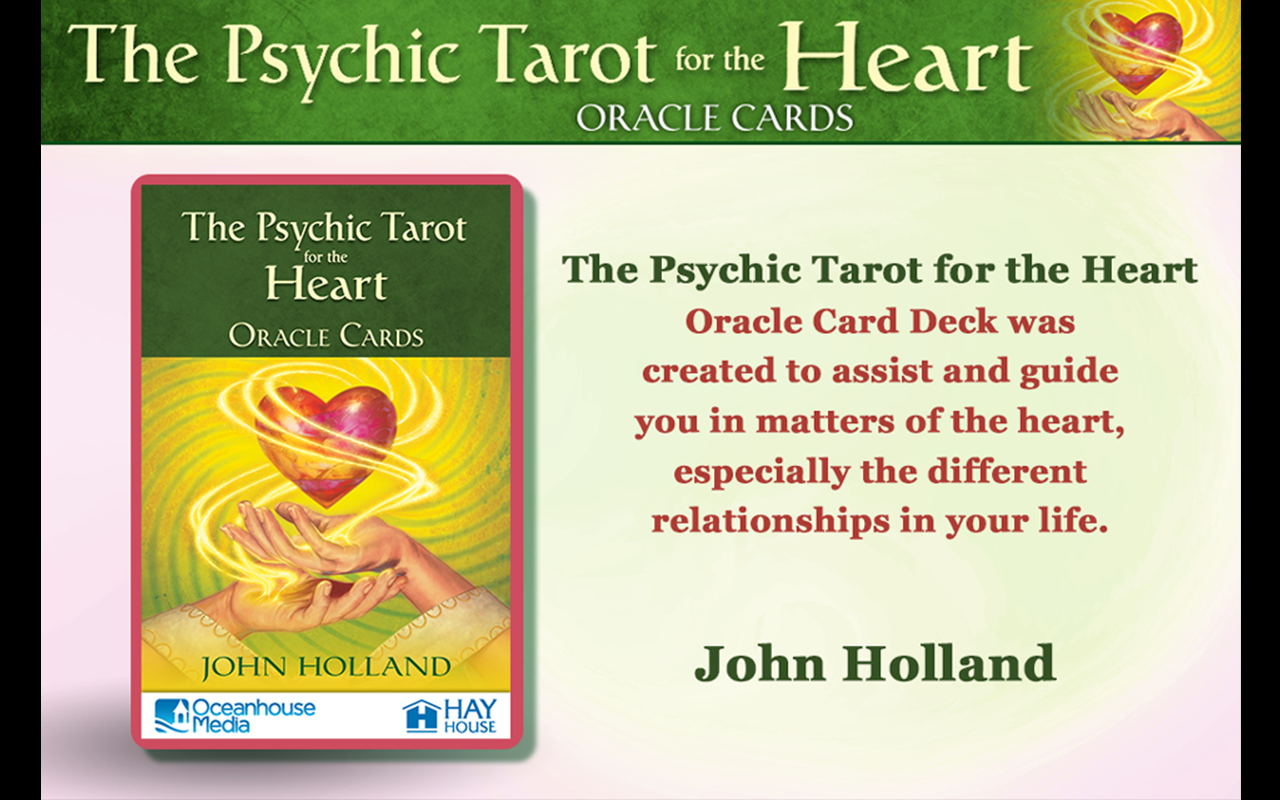 Psychic Tarot for the Heart - screenshot