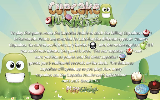 Cupcake Munch Tilt Kids Game