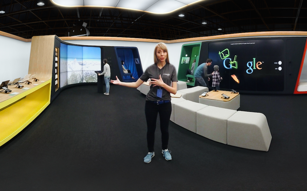 Google Shop at Currys VR Tour- screenshot