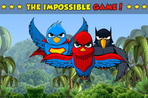 Super hero Birds - kids Games