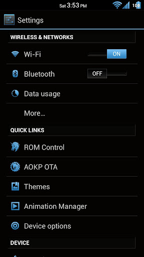 玩個人化App|Black 'n Blue CM10 Theme Free免費|APP試玩