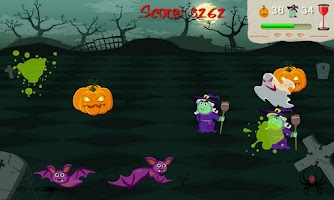 Screenshot of Squishy Halloween