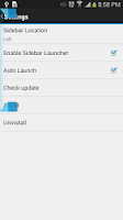 Screenshot of Sidebar Launcher