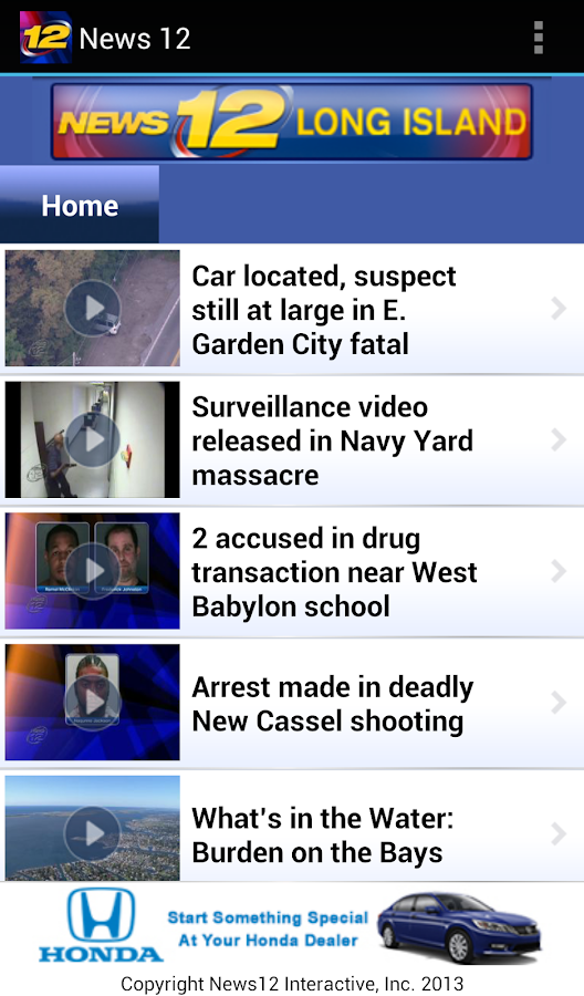 News 12 - screenshot