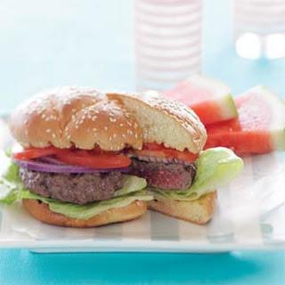 The Perfect Sunset Burger.