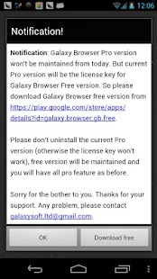 Galaxy Browser Pro - screenshot thumbnail