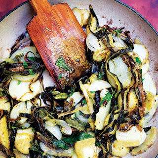Papas con Rajas (Sautéed Potatoes and Chiles).