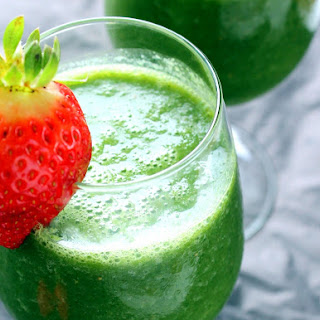 Vegan Detox Green Monster Smoothie.