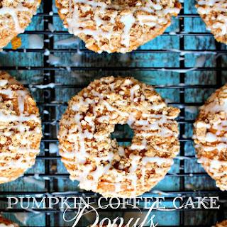 Pumpkin Coffee Cake Donuts