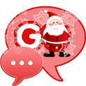 Santa Claus Theme for GO SMS icon