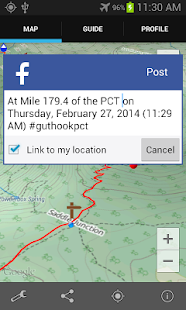 Guthook's Guide: PCT DEMO - screenshot thumbnail