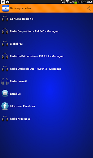 Nicaragua Radios Free