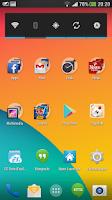 Screenshot of KitKat HD - Apex Theme