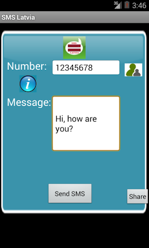 Free SMS Latvia