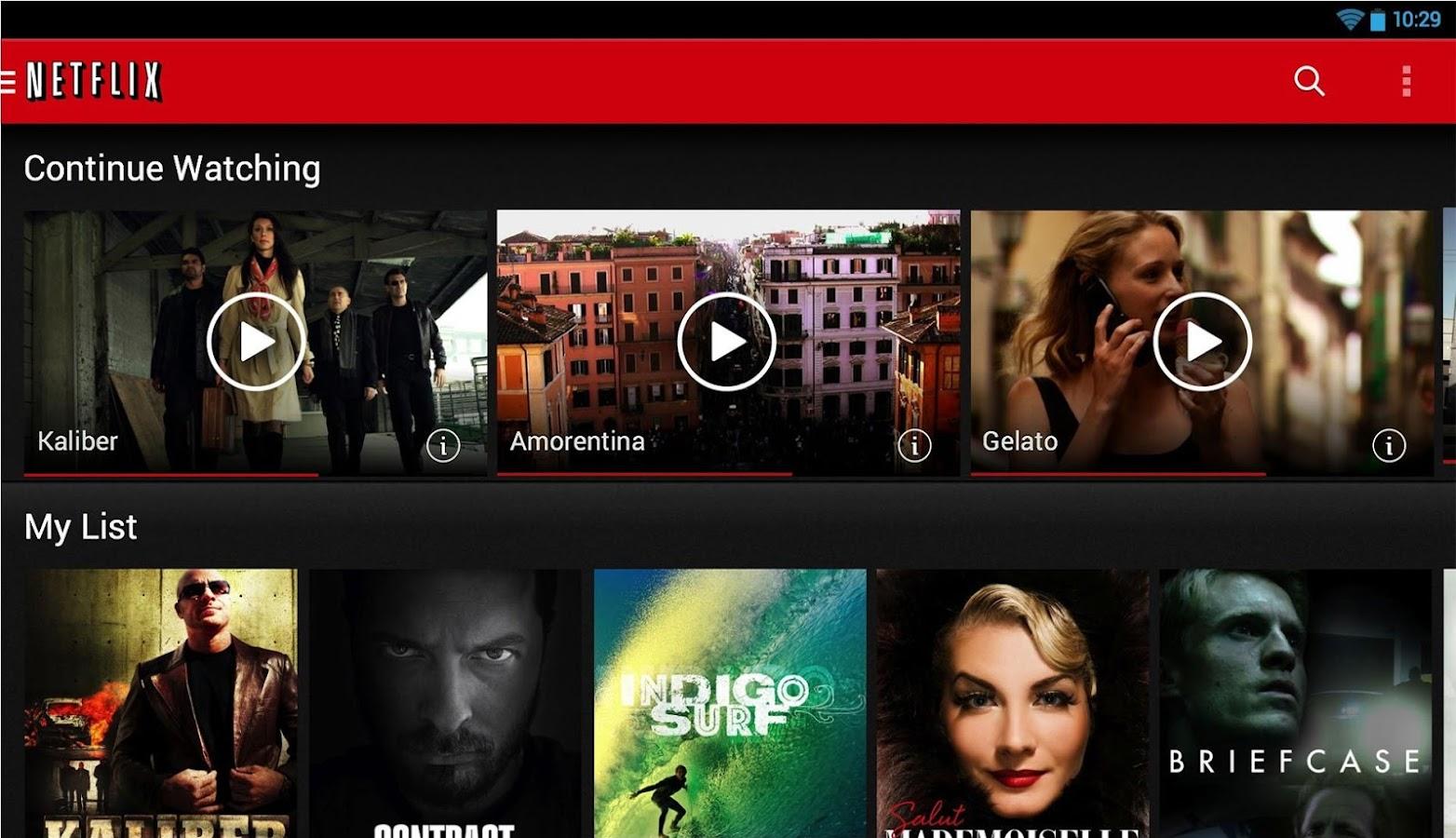 Netflix Google
