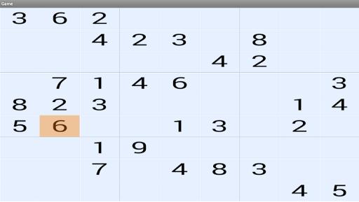 free sudoku number