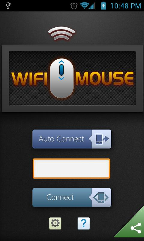 WiFi Mouse HD trial - screenshot