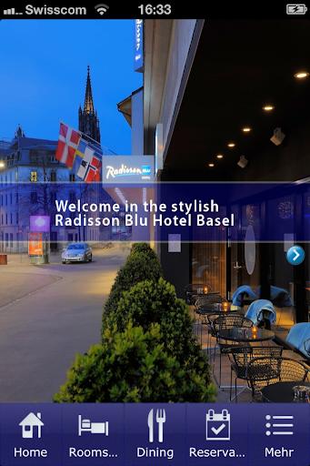 【免費旅遊App】Radisson Blu Hotel Basel-APP點子