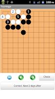 Screenshot of Tsumego