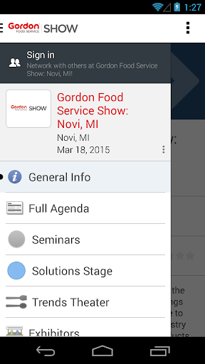 Gordon Food Service Show