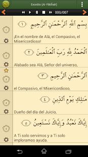 Corán en español- screenshot thumbnail