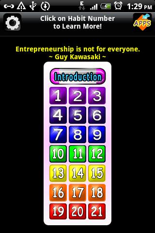 玩書籍App|21创业习惯〜免费免費|APP試玩