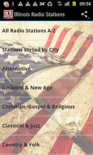Illinois Radio Stations USA