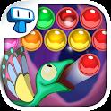 Gecko Pop - Juego de Burbujas icon