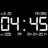 Dock-Station Digital Clock