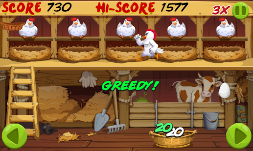 Angry Chicken: Egg Madness! - screenshot thumbnail