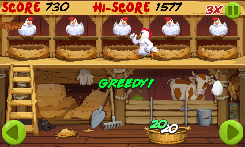 Angry Chicken : Egg Madness !- screenshot