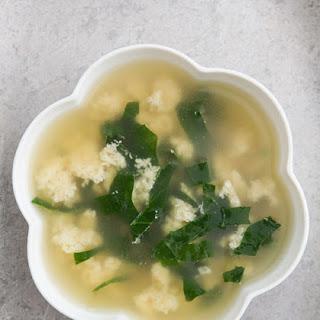 Italian Egg Drop Soup, Stracciatella