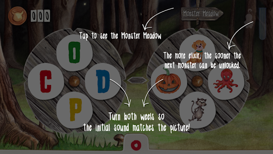 Monster ABC - Learning with the little Monsters- screenshot thumbnail