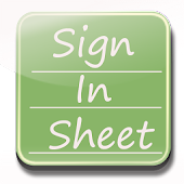 Sign In Sheet Beta
