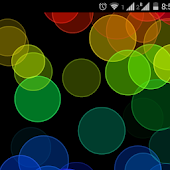 Live wallpaper Rainbow colors