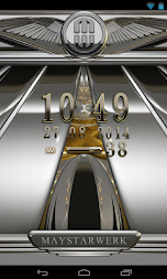 Digi Clock Widget Iridium APK screenshot thumbnail 3