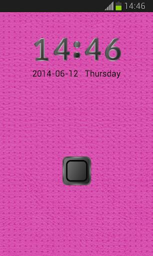 鎖屏用於S5粉色