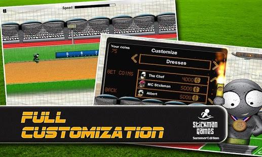 Stickman Games : Summer (Free)- screenshot thumbnail