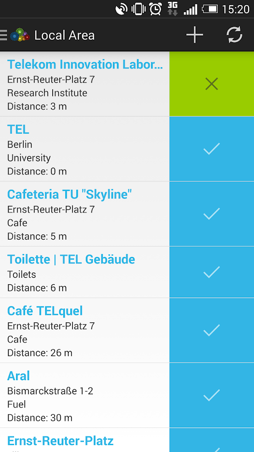 Context Data Cloud for Android- screenshot
