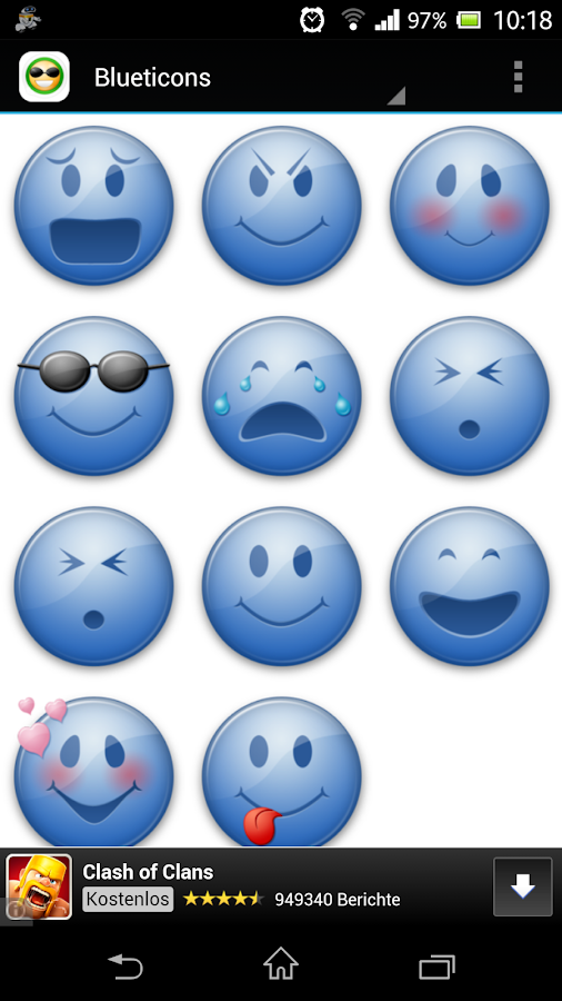 Whatsapp Emoticons & Smileys - screenshot