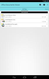 Office Documents Viewer (Full) Screenshot 5