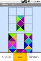Screenshot of Puzzle.TetraVex
